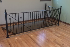 Doug's Interior Iron Railing
