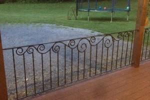 Carol's Porch Railing