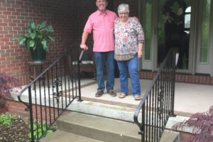 Tom's Exterior Railing (Wheeling West Virginia)