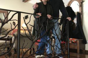 Cindy's & Patrick's Branch Railing
