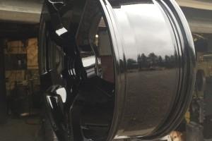 High Gloss Black Rims